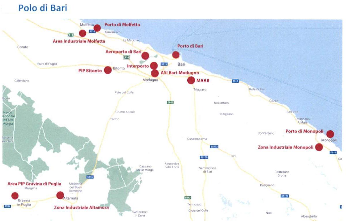 Aziende Modugno Zona Industriale zes adriatica, firmato il decreto di istituzione. portato a